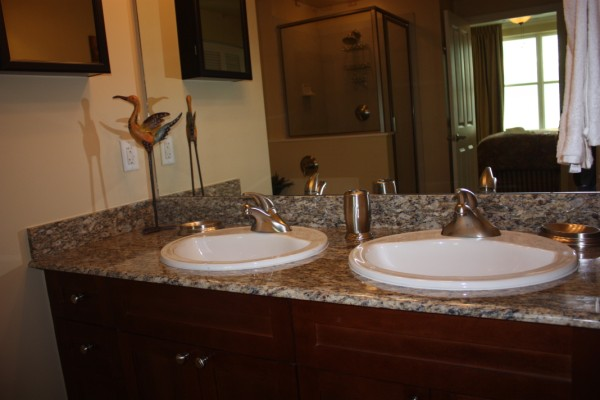 Granite Countertops in Master Bathroom