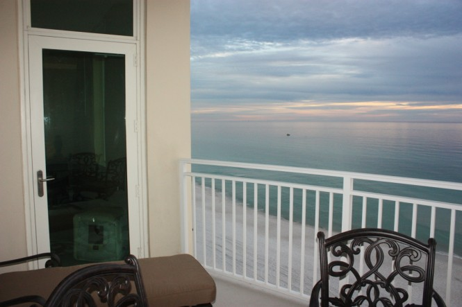 Balcony Overlooking Gulf